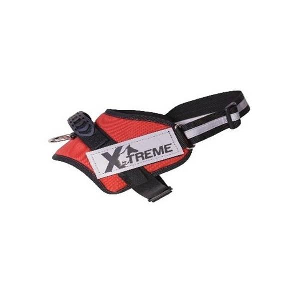 X-TREME-PRO Göğüs Tasması Small Kırmızı Reflektör