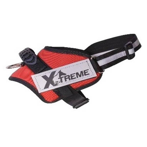 X-TREME-PRO Göğüs Tasması XLarge Kırmızı Reflektör