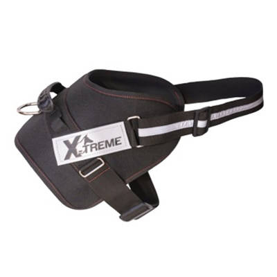 Mps - X-TREME-PRO Göğüs Tasması XLarge Siyah Reflektörlü