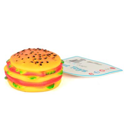 Flip - ZM-3016 Köpek Hamburger Oyuncak Yuvarlak