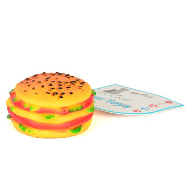 ZM-3016 Köpek Hamburger Oyuncak Yuvarlak