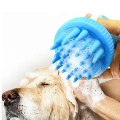 Flip - ZM1126-1 Şampuan Hazneli Köpek Yıkama Fırçası