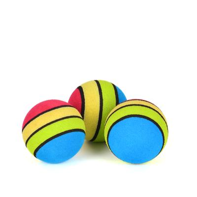 Flip - ZM4-4318 Kedi Oyun Topu Gökkuşağı 3'lü
