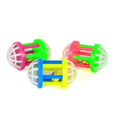 Flip - ZM4-4325 Kedi Oyun Topu Elips Zilli 3'lü